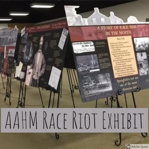 Race Riot Exhibit