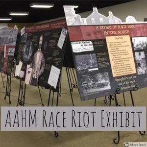 Race Riot Exhibit