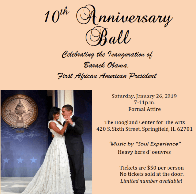 10th Anniversary Ball @ The Hoogland Center for the Arts