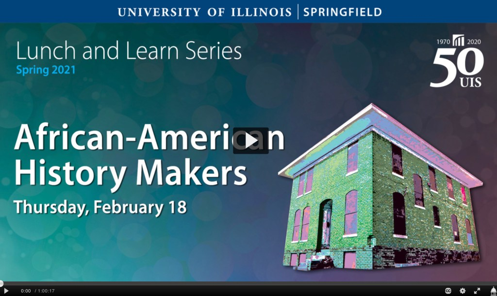 UIS Lunch and Learn