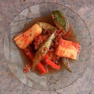 Cucumber and Pineapple Achar