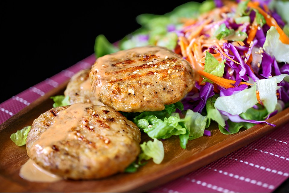 Asian Chicken Burger