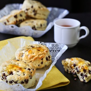 Sour Cream Chocolate Chips Scones