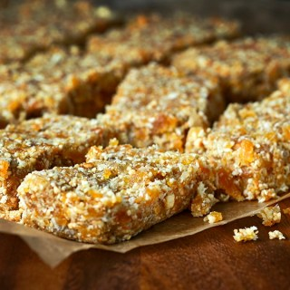 Cashew Nuts and Apricot Bars