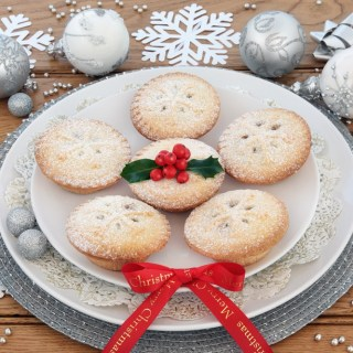 Eggless Mince Pies