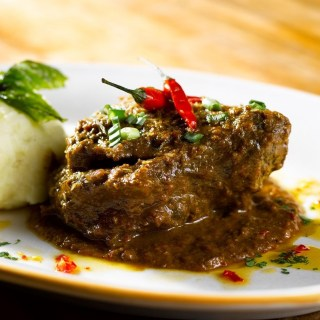 Mutton Rendang with Podimas Mash