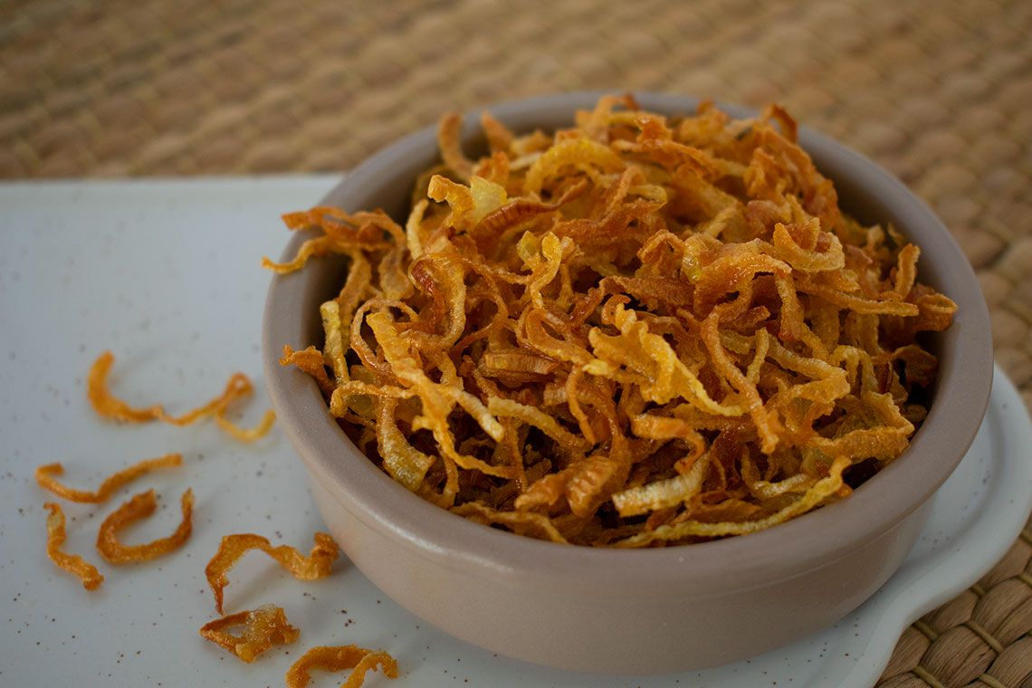 Beresta (Crispy Fried onions)