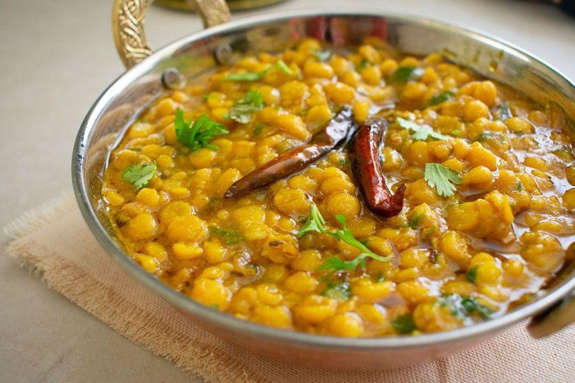 Chana dal (Lentejas amarillas al estilo hindú)