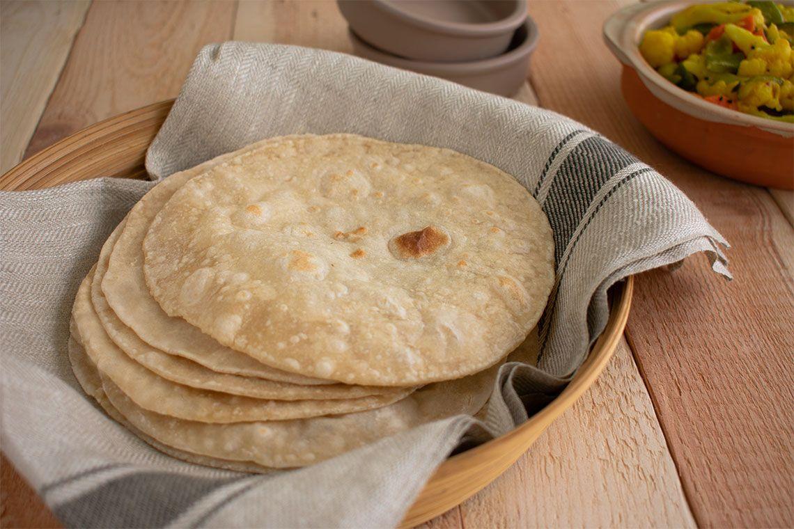 Chapati or Roti (Indian Flat Bread)