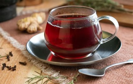Spiced Ginger Tea for Cold