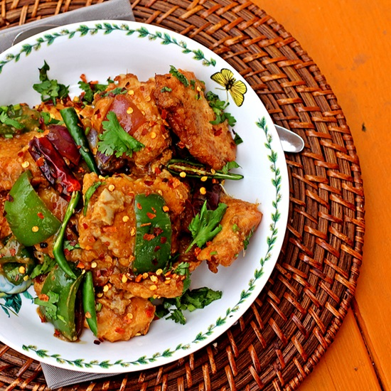 Chilli Fish Codfish In An Indo Chinese Sauce