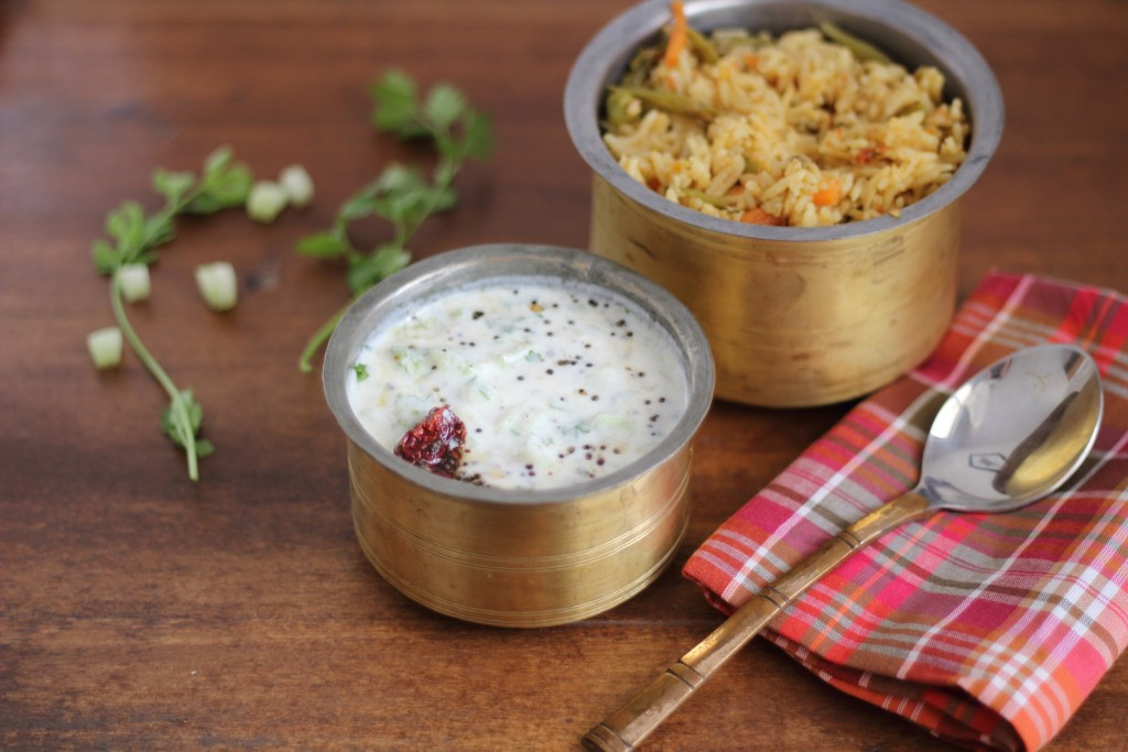 Cucumber Raita 2 small