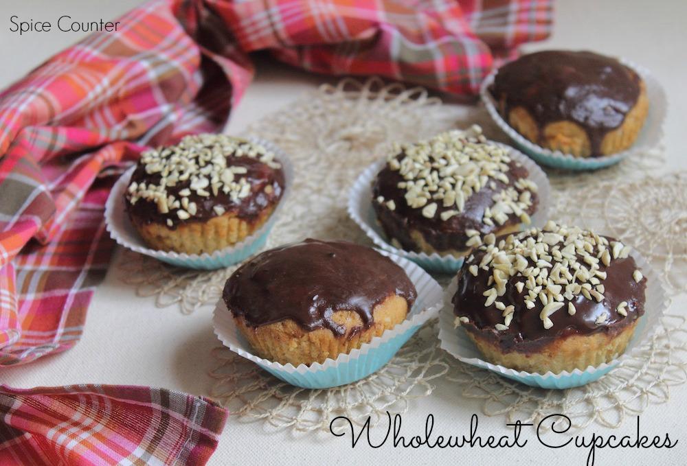 Wholewheat Cupcake
