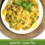 Image for Chicken Biryani made in Instant Pot