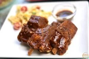 Fall-off-the-bone-Pork-ribs-Best Barbecue Picnic Recipes