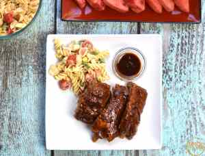Fall-off-the-bone-Pork-ribs Instant pot by Spice Cravings. This recipe of Fall-Off-The-BoneBBQ Pork ribs uses a rich spice blend to add a lot of flavor and the instant pot to push all that flavor into the ribs. #food #foodie #foodblogger #delicious #recipe #instantpot #recipes #easyrecipe #cuisine #30minutemeal #instagood #foodphotography #tasty