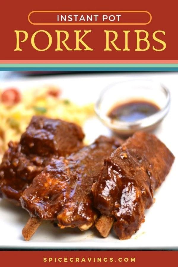 Instant Pot recipe for BBQ pork ribs
