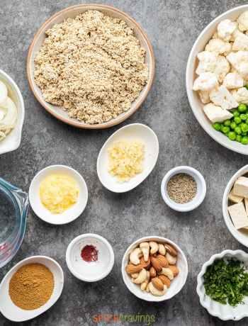 Quinoa vegetable Biryani garammasalakitchen.com