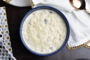 Rice Pudding- Kheer in Instant Pot