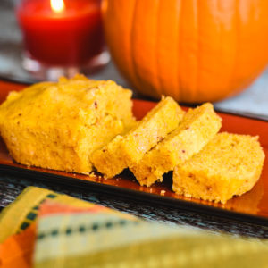 Pumpkin Spice Cornbread