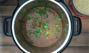 Kidney Beans and Rice, Instant pot, Pot in pot
