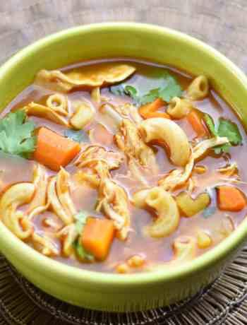 Instant pot Chicken Noodle Soup Ethiopian