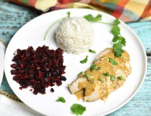 Coconut-lime-chicken-and-rice-Instant Pot