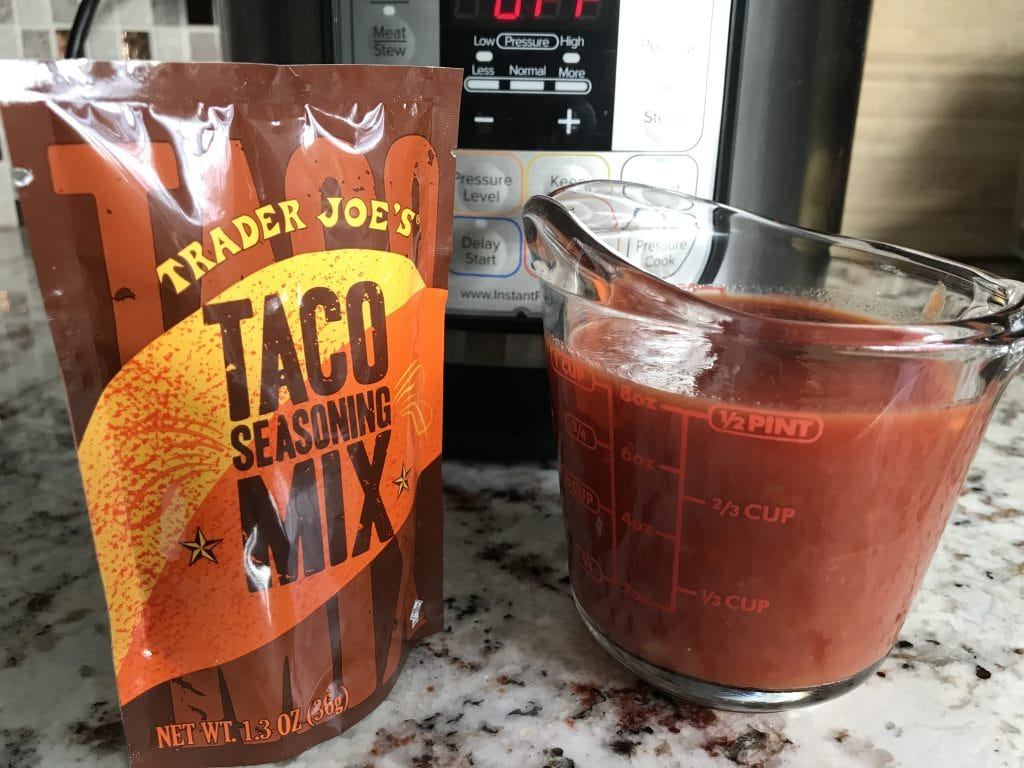 3-ingredient Instant Pot Salsa Chicken