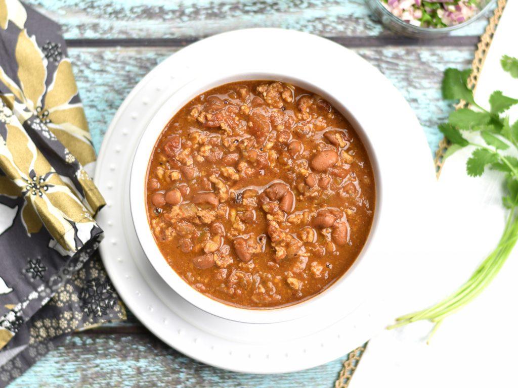 Recipe for Easy Instant Pot Chicken Chili