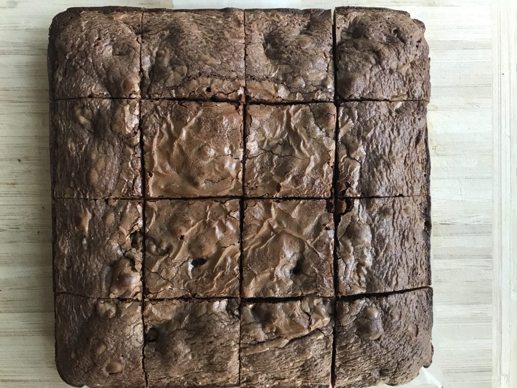 4-Ingredient Brownies, garam masala kitchen