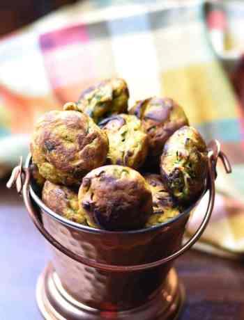 No-Fry-Pakora-Fritters, Garam Masala Kitchen