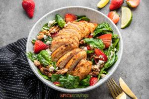 Grilled Cajun Chicken Salad- Best Barbecue Recipes