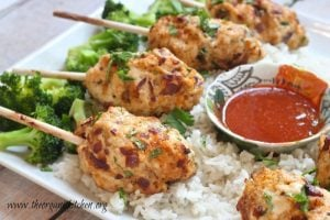 BACON SRIRACHA CHICKEN SKEWERS- Best Barbecue Picnic Recipes