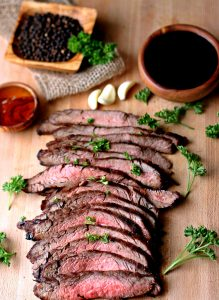 MARINATED FLANK STEAK- Best Barbecue Picnic Recipes