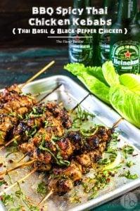 Spicy-Thai-Chicken-Skewers-Best Barbecue Recipes