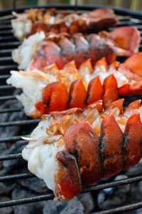 grilled-bourbon-lobster-Best Barbecue Recipes