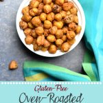 Oven Roasted Chickpeas mediterranean and Indian flavors