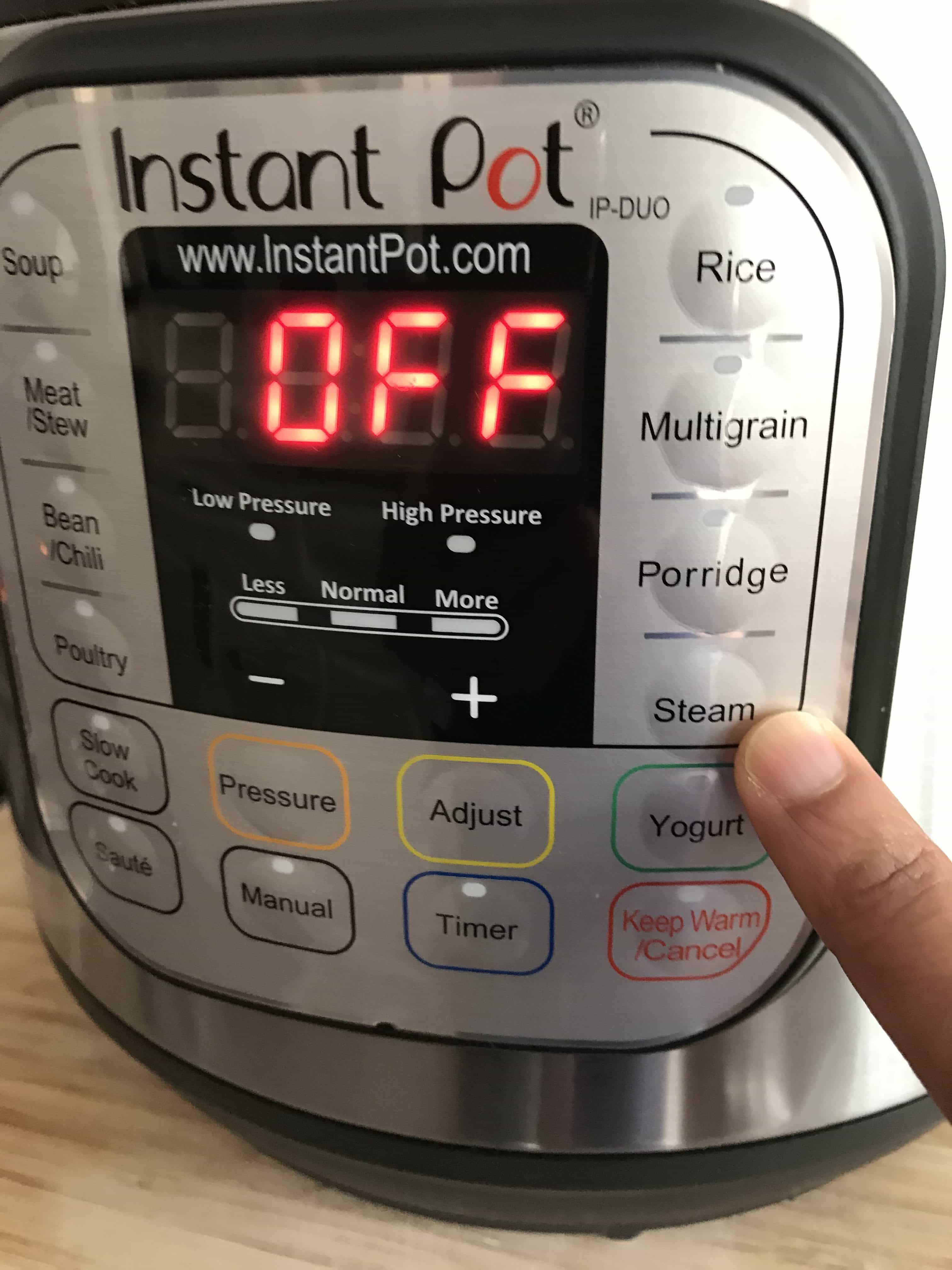 Instant Pot DUO Water test