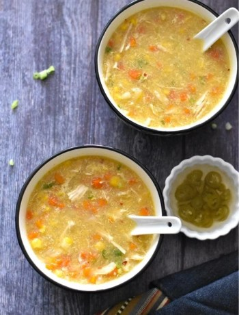 Instant Pot Easy Chicken Sweet Corn Soup