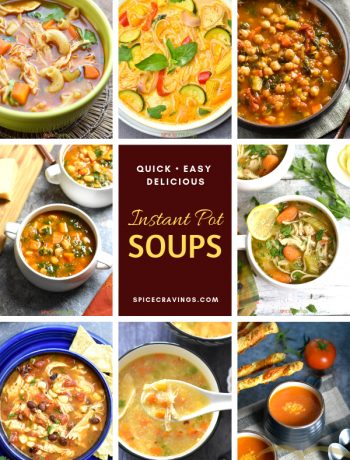 A collection of Instant Pot Soup Recipes