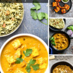 A collection of recipes for an Indian Dinner party