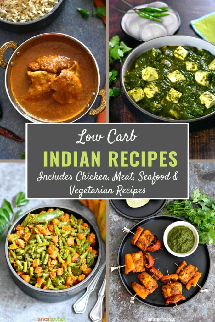 A collection of low carb and keto friendly Indian food recipes.