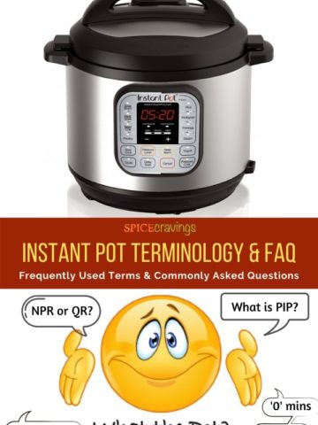 instant pot and clip art smiley face with quote bubbles