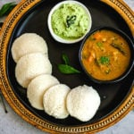 idli recipe pinterest graphic