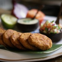 Spicy Sweet Potato Aloo Tikki