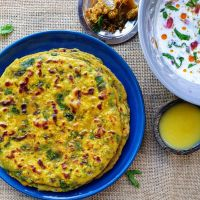 Spiced Methi (Fenugreek) Parathas