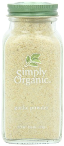 Simply Organic Garlic Powder Certified Organic, 3.64-Ounce Container