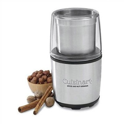 Spice and Nut Grinder in Brushed Stainless