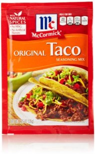 McCormick Taco Seasoning, 1.25 Ounces