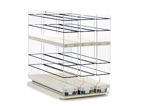 Spice Rack (Shallow) – Cabinet Mounted- 3 Drawers – 30 Capacity – New and Unique